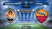 Liga Champions_Shakhtar Donetsk vs AS Roma (Bola.com/Adreanus Titus)