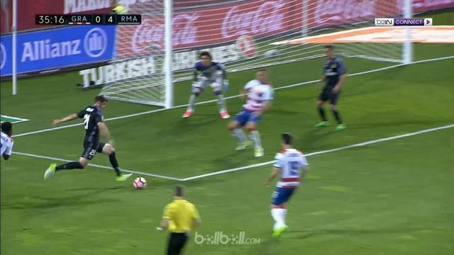 Berita video pesta gol Real Madrid ke gawang Granada tanpa Cristiano Ronaldo. This video presented by BallBall.