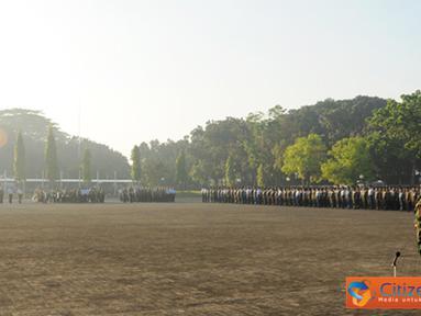 Citizen6, Jakarta: Di akhir amanatnya, Panglima TNI  menekankan  kepada seluruh Komandan Satuan dan PNS TNI untuk meningkatkan keimanan dan ketakwaan kepada Tuhan Yang Maha Esa. (Pengirim: Badarudin Bakri Badar).