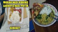 6 Potret Nasi Campur Lauk Nyeleneh Ini Cuma Ada di Indonesia (Sumber: 1cak)