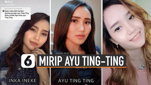 Beredar video perempuan mirip Ayu Ting-Ting viral di media sosial. Perempuan ini sedang bernyanyi lipsing di aplikasi media sosial TikTok.