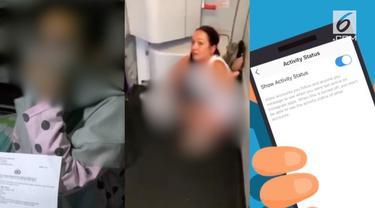 Video hit hari ini datang dari suami yang tega menelanjangi istrinya di tem[at umum, perempuan nekat kencing di lantai pesawat, hingga cara menonaktifkan tampilan Instagram.