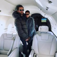 Scott Disick dan Sofia Richie sepertinya tengah berusaha untuk terlihat lebih mesra usai isu putus. (instagram/letthelordbewithyou)