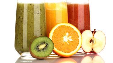 Ilustrasi jus buah.