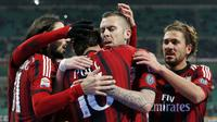 AC Milan Vs Parma (REUTERS/Alessandro Garofalo)