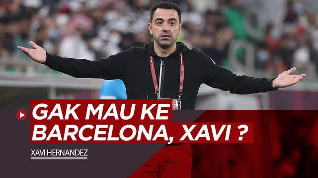 Berita video raihan fantastis legenda Barcelona, Xavi Hernandez sebagai manajer klub Liga Qatar, Al-Sadd