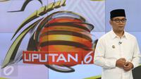 Wali Kota Bandung, Ridwan Kamil saat memeriahkan HUT Liputan 6 di Senayan City, Jakarta, Senin (23/5). (Liputan6.com/Immanuel Antonius)