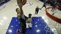 Jayson Tatum mencetak poin tertinggi untuk Boston Celtics (AP Photo/Matt Slocum)