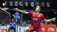 Tunggal putra Indonesia, Jonatan Christie, bertekad mendongkrak peringkatnya yang belakangan terus turun. (PBSI)