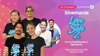 Ikuti Keseruan Live Streaming Bersama para Cast Film Love For Sale 2