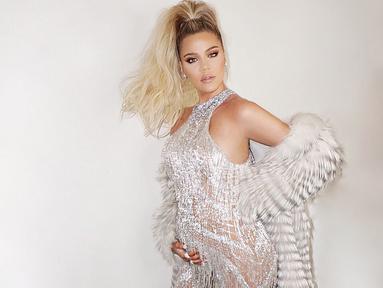 Khloe Kardashian sepertinya sudah siap untuk kembali miliki anak meski belum lama melahirkan True Thompson. (instagram/khloekardashian)