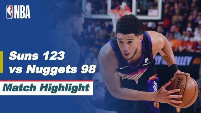 Berita Video Highlights Semifinal NBA Playoffs, Phoenix Suns Vs Denver Nuggets 123-98, Kamis (10/6/2021)