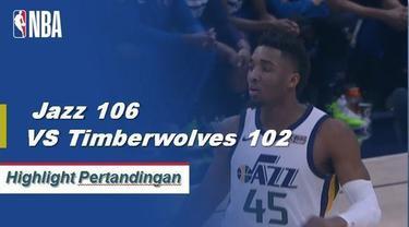 Donovan Mitchell selesai dengan 24 poin, tujuh rebound dan 11 assist saat Jazz memenangi berturut-turut kedua mereka.