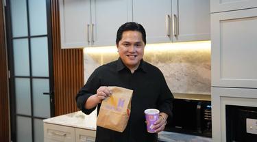 Erick Thohir juga ikut demam BTS Meal