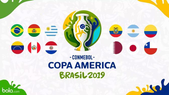 Jadwal Copa America 2019: Laga Penentu Nasib Jepang & Uruguay