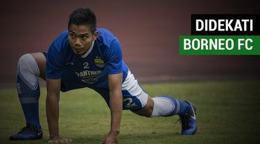 Berita video bek Persib Bandung, Wildansyah, mengaku didekati secara intens oleh Borneo FC.