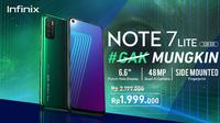 Infinix Note 7 Lite dijual Rp 2 jutaan (Foto: Infinix)