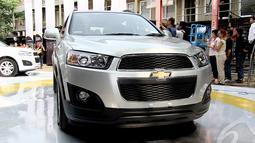 Model sport utility vehicle (SUV) terbaru pabrikan Amerika Serikat ini hadir dengan pengembangaan kendaraan yang inovatif, Yesterday Lounge, Jakarta, Rabu (11/6/2014) (Liputan6.com/Faizal Fanani)