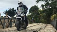 Honda mengajak customer Honda Big Bike touring dari Makassar hingga Manado ini menempuh jarak total perjalanan sejauh 1.918 kilometer.