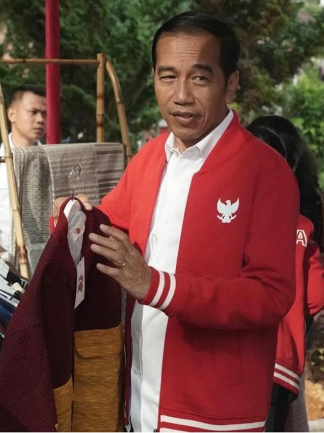 Jaket Jokowi yang Tebarkan Semangat Nasionalisme