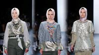 Anniesa Hasibuan di New York Fashion Week