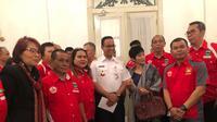 Pengurus DKI Jaya bersama Gubernur Anies Baswedan (istimewa)