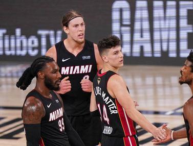 Taklukkan LA Lakers di Gim Ketiga, Miami Heat Jaga Asa di Final NBA