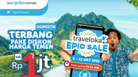 EPIC Sale Traveloka.