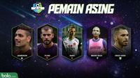 Liga 1 Pemain Asing 2018 (Bola.com/Adreanus Titus)