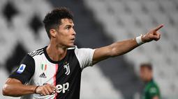 2. Cristiano Ronaldo (Juventus) : 28 gol. (AFP/Marco Bertorello)