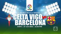 CELTA VIGO VS BARCELONA (Liputan6.com/Abdillah)