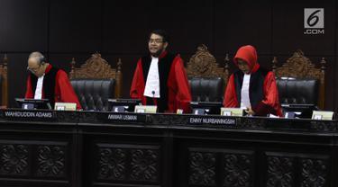 MK Gelar Sidang Perdana Uji Materi UU KPK