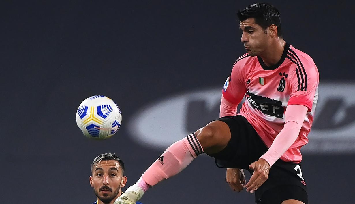 FOTO: Juventus Hanya Bermain Imbang Atas Verona - Bola Liputan6.com