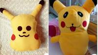 7 Potret Boneka Pikachu Ini Bikin Tepuk Jidat, Ada yang Kena Azab (twitter.com/khansaafathima)