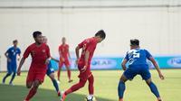Timnas Indonesia U-23 Vs Filipina U-23 di Stadion Jalan Besar, Singapura, Minggu (9/6/2019). (PSSI)