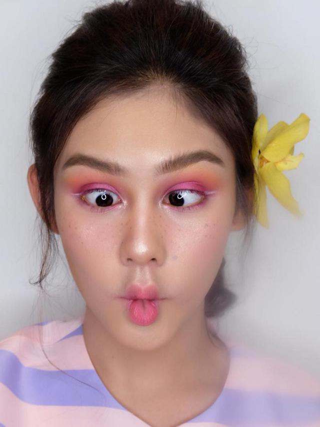 Main Makeup Brushes You Need: Bikin Rindu Berat, Makeup Vanesha Prescilla Ini Cantik