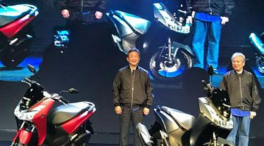 Yamaha Pamer Lexi 125, Siap Hajar Honda Vario 125? (Foto:Instagram Abidin San)
