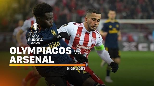 Berita video highlights leg I babak 32 Besar Liga Europa 2019-2020, Olympiakos vs Arsenal, yang berakhir dengan skor 0-1, Kamis (20/2/2020).