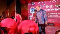 Peresmian Lazada 12.12 Grand Year End Sale di Hotel Pullman, Jakarta, 4 Desember 2018. (Liputan6.com/Asnida Riani)