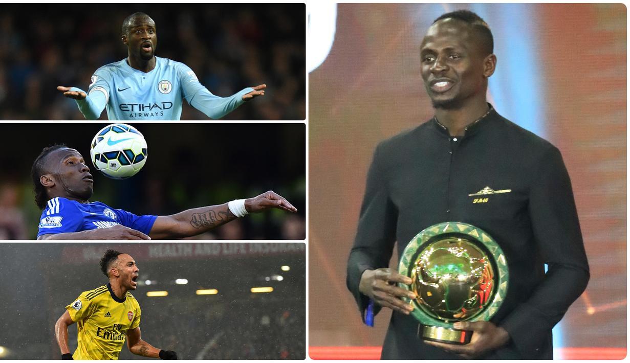 FOTO Deretan Pemain Terbaik Benua Afrika Dari Masa Ke Masa