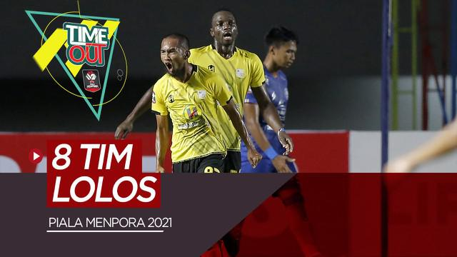 Berita Video Highlights Pertandingan Terakhir Babak Grup Piala Menpora 2021
