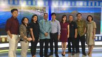 Menteri Pariwisata Arief Yahya mengunjungi Kantor Liputan6.com, Rabu (16/3/2016).