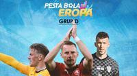 Piala Eropa - Starting XI Grup D Euro 2020 (Bola.com/Adreanus Titus)