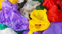 ilustrasi kantong plastik. (iStockphoto)