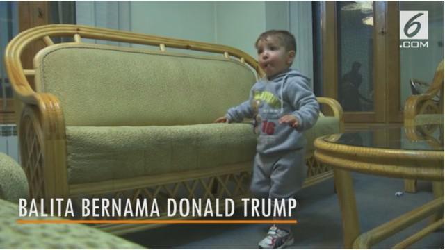 Seorang pria asal Afghanistan memberi nama anaknya Donald Trump.