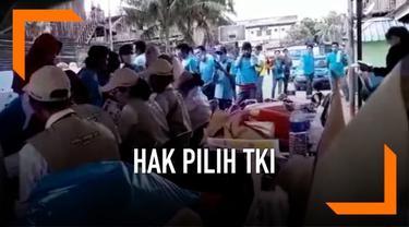 Ribuan Tenaga Kerja indonesia (TKI) di perusahaan swasta Sabah Malaysia lebih dulu menggunakan hak pilihnya di bilik suara. Mereka antusias memilih calon presiden dan anggota legislatif.