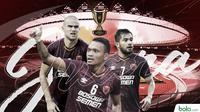 PSM Makassar juara Piala Indonesia. (Bola.com/Dody Iryawan)