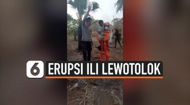 thumbnail anak-anak lari dari erupsi