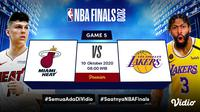 Nonton streaming final NBA 2020 kini bisa lewat platform Vidio. (Sumber: Vidio)