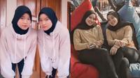 Kembar Identik, Dua Wanita Ini Saling Bergantian Saat Ospek Online Bikin Warganet Iri. (Sumber: TikTok/bestabeste)